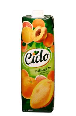 """Multi фруктовый Mix соковый напиток  """"Cido """" (1 л)"""
