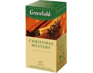 GREENFIELD Christmas Mystery (25 maisiņi x 1.5g)