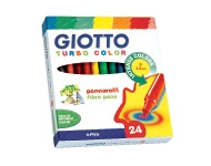 "Flomāsteri ""Giotto Turbo Color"" (24 krāsas)"