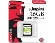 Kingston SDHC 16GB U1 Canvas Select
