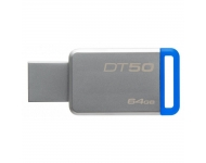 Zibatmiņa Kingston DataTraveler 50 USB 3.1 64GB Blue